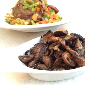 Braised Short Rib with Mushrooms