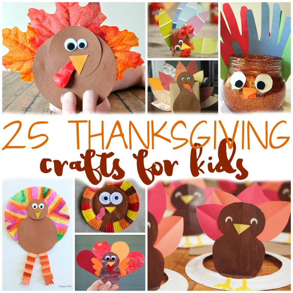25 Easy Thanksgiving Crafts For Kids To Keep Them Busy