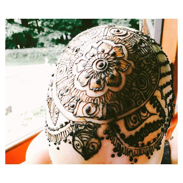 Henna Crown