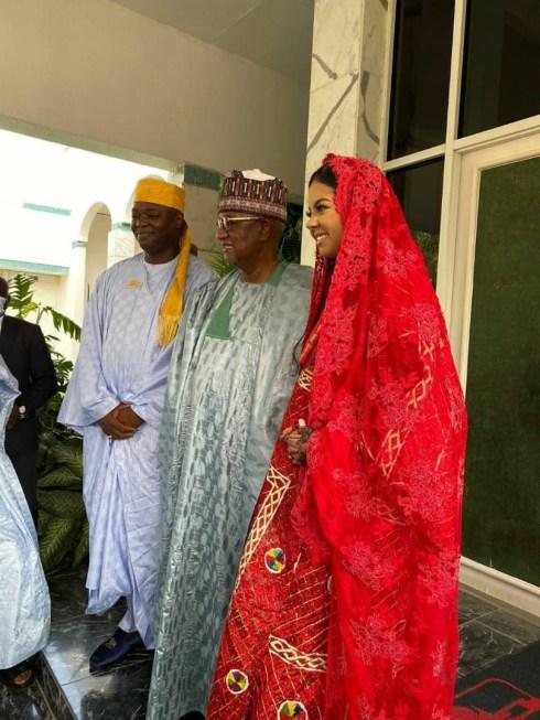 Photos from the Nikkai of billionaire daughter, Adama Indimi and Kogi prince, Malik Ado-Ibrahim