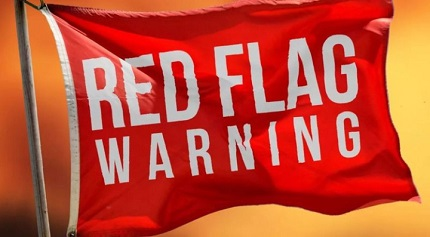 Way to Deal With a Red Flag, According to Experts