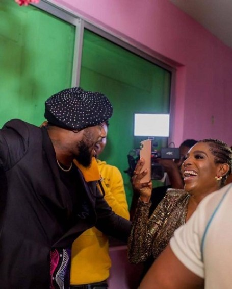Nollywood Actress, Annie Idibia Shares Photos of her hubby's birthday party.