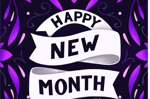 100 Happy New Month Messages October, New Month Prayers For October