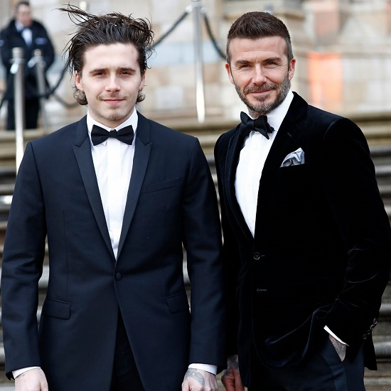 David Beckham's oldest son just got engaged and he's going all South Florida on us