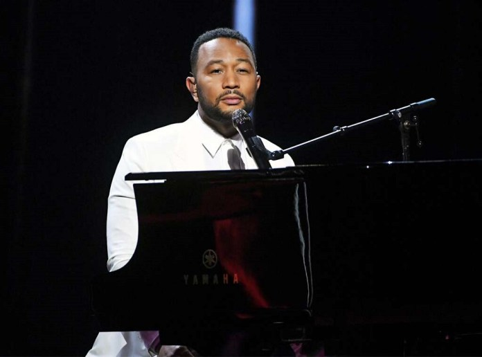 John Legend Dedicates Emotional Performance To Wife Chrissy After Tragic Loss Of Baby