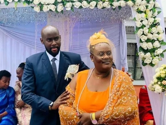 Internet Erupts As A 62-Year-Old Woman Weds Her 24-Year-Old Boyfriend In Kenya (Photos)