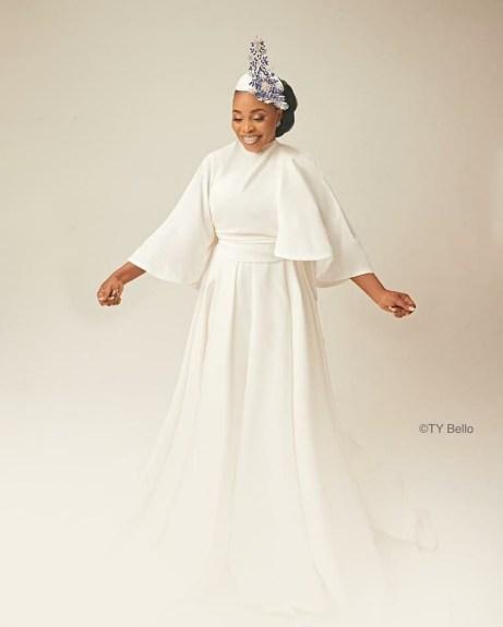 Gospel Artiste, Tope Alabi Shares Stunning New Photos As She Turns 50