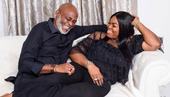 Moses Simon: Super Eagles Star Celebrates Wife Ibukun On Their 5th Wedding Anniversary