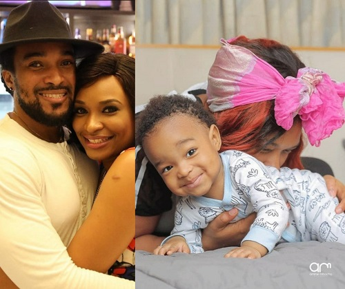 Actor, Bryan Okwara and his partner Marie Claire Miller are celebrating their son's 1-year-birthday today.