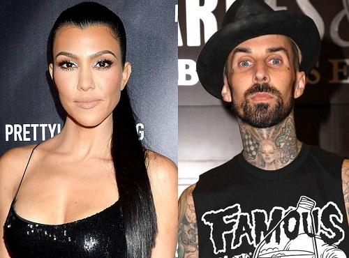 How Kourtney Kardashian and Travis Barker Celebrated Their First Valentine's Day Together
