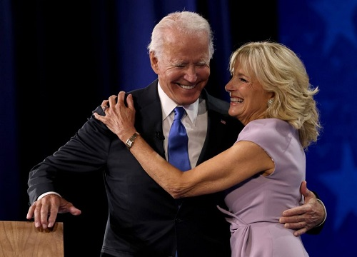 "Joe Biden Says That Sometimes a Marriage Has to ""Be 70/30"" in Order to Thrive"
