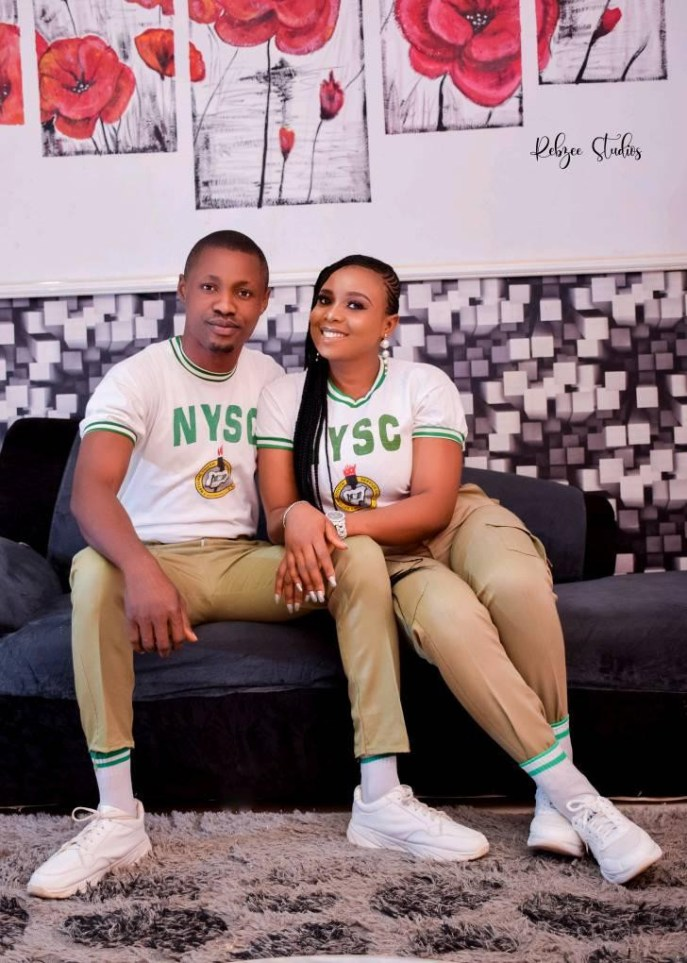 NYSC gave me a wife – Man says as he proposes to fellow corps member on their POP day (Photos/Video)