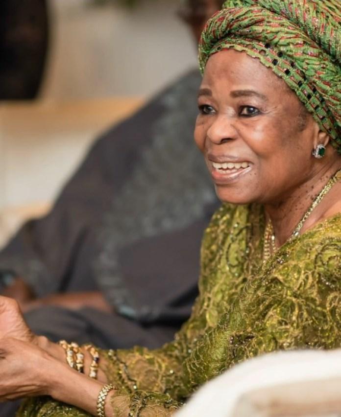 Toyin Saraki Celebrates Mother, Erelu Ojuolape Ojora On 83rd Birthday (photos)