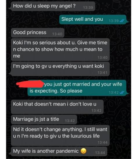 My Wife Is Another Pandemic: Married Man Gives Reason For Cheating On His Wife