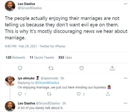 Why Only Discouraging News About Marriage Trend-Big Brother Naija Star Leo Dasilva