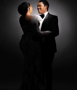 Actress Omotola Jalade-Ekeinde, and husband, Matthew, celebrate 25th wedding anniversary