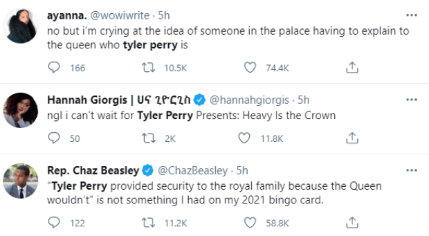 How Tyler Perry came to Meghan Markle and Prince Harry's rescue when the royal family cut them off financially