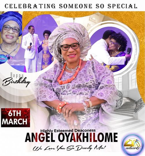 LoveWorld Celebrates Pastor Chris Oyakhilome's Mother Birthday