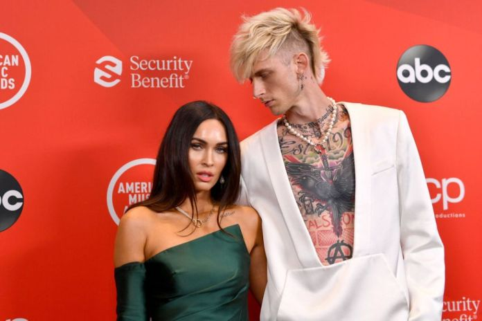 Megan Fox and Machine Gun Kelly Continue to Show Their Love as They Smile on Sweet Dinner Date