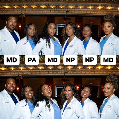 6 Nigerian siblings who are all medics in the US go viral on LinkedIn