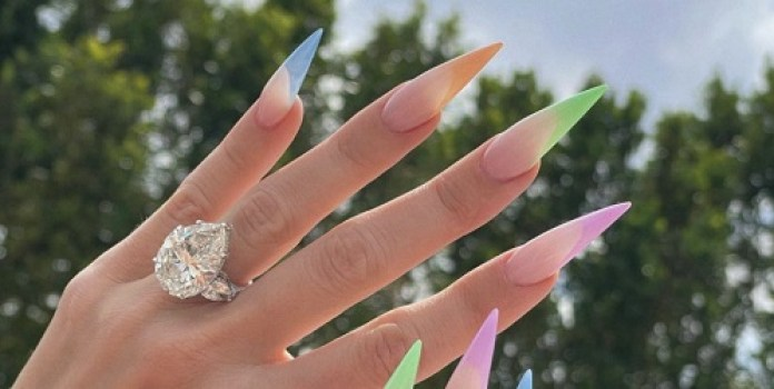 Khloe Kardashian Finally Shares a Close-Up of That Diamond Ring She's Been Rocking
