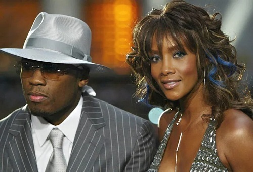 50 Cent supports Vivica A. Fox, not 'bothered' by 'love of my life' comment