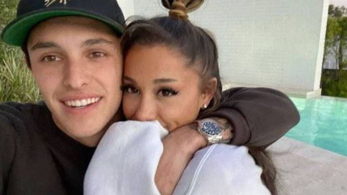 Ariana Grande Marries Dalton Gomez In A Private Ceremony With Less Than 20 Guests In Montecito(Photos)