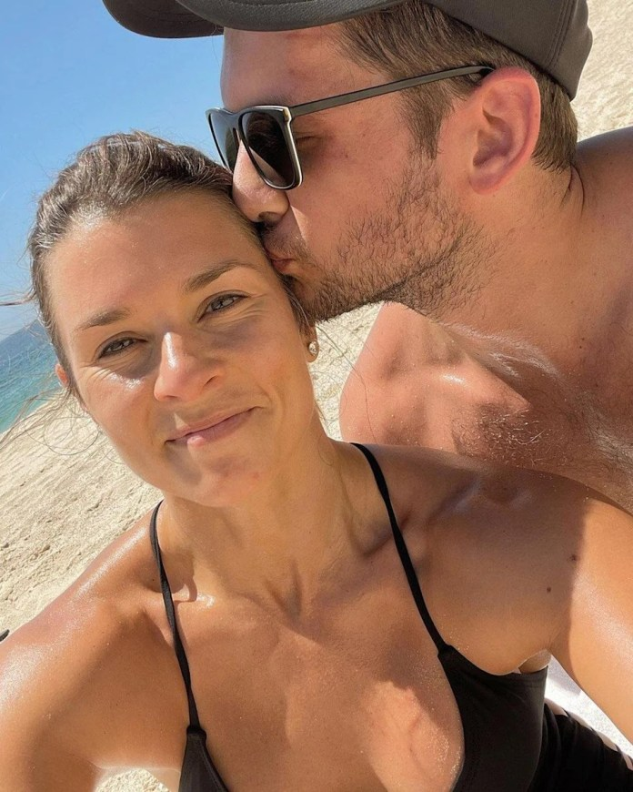 Danica Patrick and Her Boyfriend Carter Comstock Enjoy 'Kisses and Cardio' During Workout