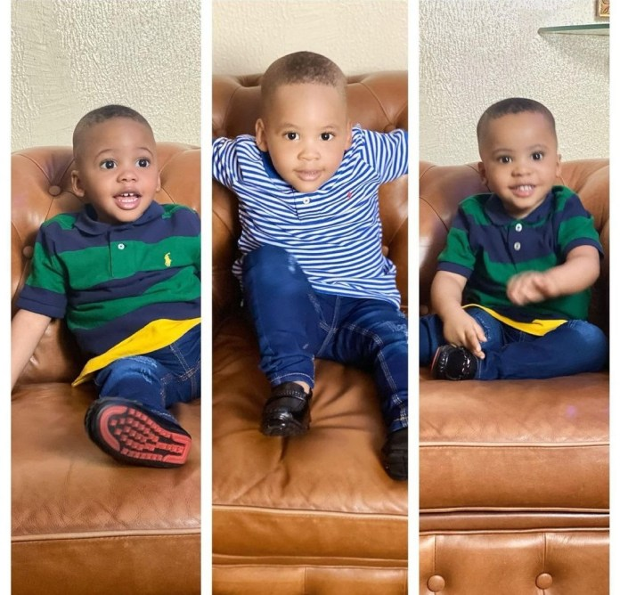 """""""I am willing to fight on... till I have you all back in my arms"""" Precious Chikwendu celebrates her triplets sons and herself as they mark their joint birthday"""