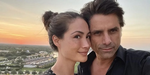 John Stamos and His Wife Caitlin McHugh Have the Best Engagement Story Ever