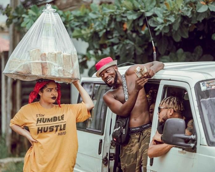 Bbnaija's Nengi Stuns In Comedy Skit As Bread Seller– Fans React To New Photos