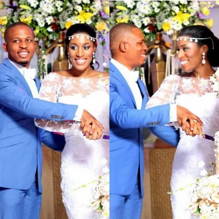 ''I knew shortly after we met that you were the one for me''- Rapper, Naeto C's wife tells him as they celebrate 9th wedding anniversary