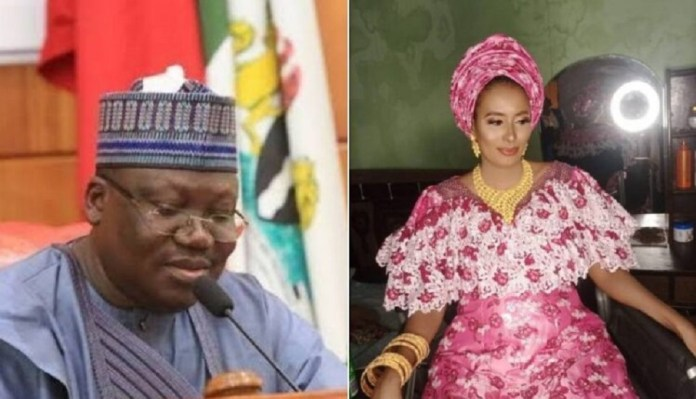 Senate President, Lawan Reportedly Gifts N100M To New Wife, Moves Her To Multi-Million Naira Abuja Mansion