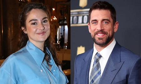 Shailene Woodley and Aaron Rodgers were engaged for 'months and months' before going public