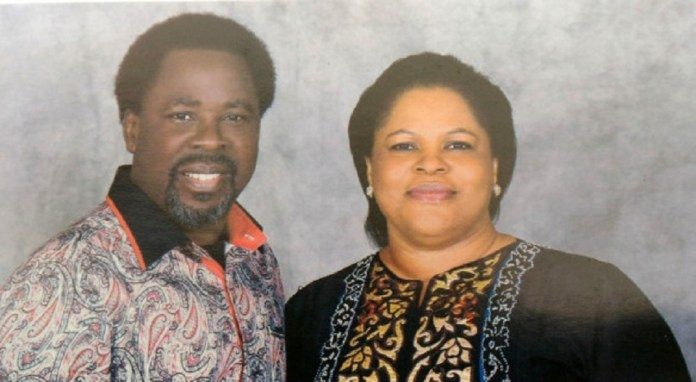 """TB Joshua's Wife Recounts How They Fell In Love On First Sight """"I Don't Want A Concubine, I Want Just You"""""""