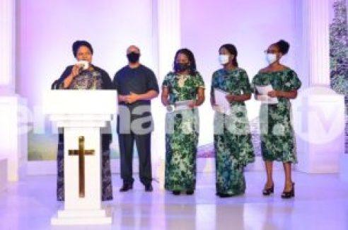 Photos: Timi Dakolo, Fani-Kayode, Other Celebrities Attend TB Joshua's Tribute Service