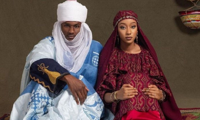 The President's Son Yusuf Buhari and Zahra Bayero Hold Pre-wedding dinner-See Photos