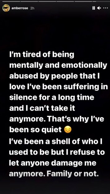 """Amber Rose Cries Out: 'I've Been Suffering In Silence' - Accuses Boyfriend Alexander """"AE"""" Edwards Of Cheating On Her With 12 Women"""
