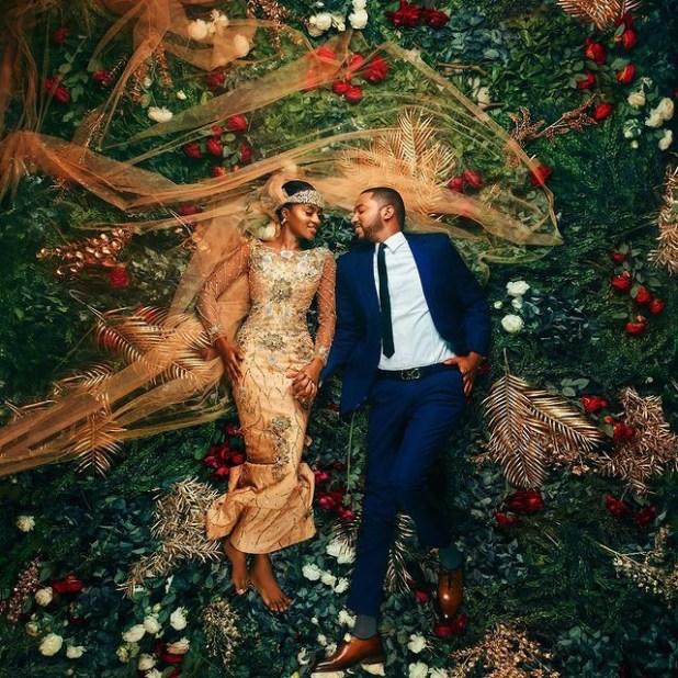 Hanan Buhari and her husband, Mohammed Turad celebrate first wedding anniversary