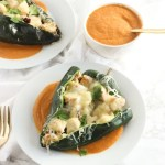 Grilled Chicken Chile Rellenos