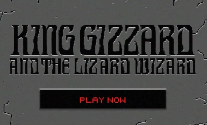 king gizzard mars for the rich in browser video game doom quake ripoff