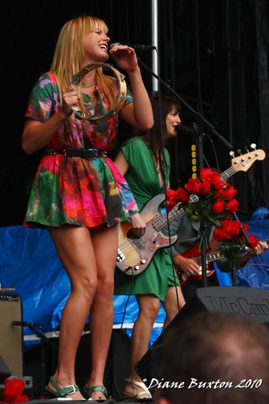 Grace Potter & the Nocturnals @ Mountain Jam 2010