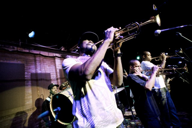 Rebirth Brass Band @ Space, Evanston, IL 5/12/10