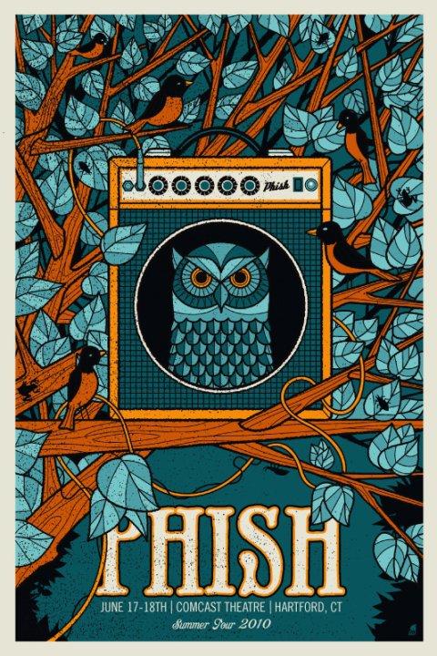 Phish Comcast Theatre Hartford CT 61710 LIVE Music Blog