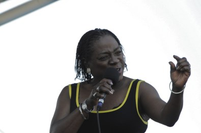Sharon Jones & the Dap Kings @ Newport Folk 2010