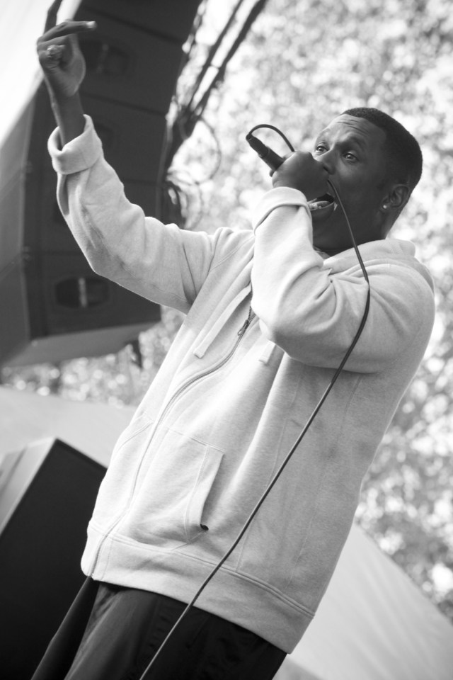 Jay Electronica @ North Coast Music Fest 2010