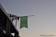 Pfork Flag @ Pitchfork Music Festival 2011