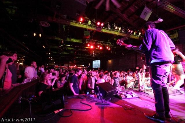 Rubblebucket @ Brooklyn Bowl, 8/19/11 (early show)