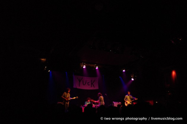 Yuck @ The Independent, SF 7/26/11