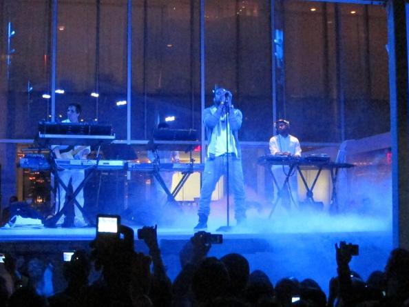 Kanye West @ MoMA Garden Party, NYC 5/10/11 | Photo © Stephen Kelley